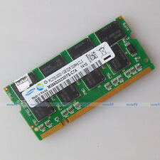 Samsung 1GB PC2700 DDR333 333Mhz 200PIN Laptop SO-DIMM Memory 1G RAM Full Test