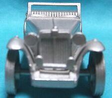 "1946 MG-TC Danbury Mint Pewter Very Nice In Display 2+3/8"" Hi Detail MODEL MG-TC"