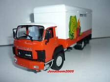 IXO ALTAYA TRUCKS FROM THE PAST SAURER D330 FRIDGE IMMER FRISCH SWISS 1978 1/43