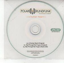 (DV362) Polar Rundfunk, A Human Heart - 2012 DJ CD