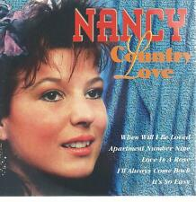 CD album - NANCY - COUNTRY LOVE - HOLLAND  - COUNTRY / POP