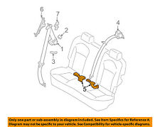 NISSAN OEM 08-13 Rogue Rear Seat Belts-Buckle Right 88842JM10B
