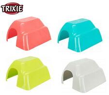 More details for trixie large plastic guinea pig dwarf rabbit cage hutch hide house 61343