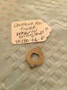 Vintage Dam Quick Finessa 280 - Used Part - Washer for Driving Shaft