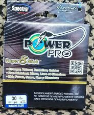 Super 8 Slick Spectra Line 30lb by 150yds Blue (0169) Power Pro