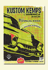 Kustom Kemps of America 2011 DVD Harley Chopper Kustom Hot Rod Chev Ford