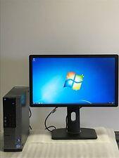 Dell Optiplex 990 SFF Desktop Core i3-2100 @ 3.1GHz 8GB 500GB HDD Window 7 Pro