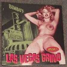 LAS VEGAS GRIND Vol 5 LP NEW Nude Cheesecake Cover jaynells playboys creep jets