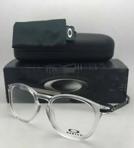 New OAKLEY Rx-able Eyeglasses PITCHMAN R OX8105-0450 50-19 Clear & Black Frames