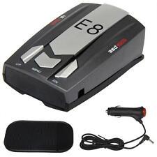 New E8 Laser Radar Gun Speed Wireless Detector Car Motorbike 16 Band 360 Degree