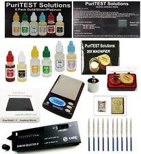 Digital Scale + Electronc Diamond Detector + Gold/Silver/Platinum Testing Kit.