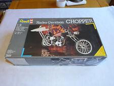 Revell 1/8th Harley Davidson custom Chopper motorcycle model kit