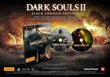 Dark Souls II 2 Black Armour Edition PS3 Rare Limited Edition Steelbook Complete
