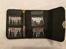 Portable pocket Screwdriver Set fold up wallet 25 pieces repair kit. Never used
