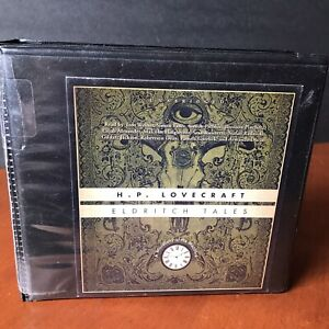 H.P. Lovecraft Eldritch Tales Audio Book CD Set Horror 2014 Miscellany Macabre