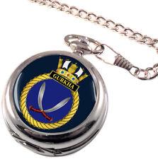 HMS Gurkha Full Hunter Pocket Watch