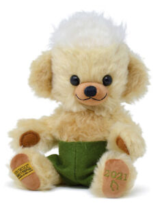 Merrythought 2021 Punkie Year Bear - limited edition collectable teddy - JPA9M21