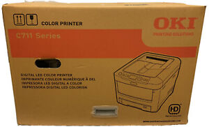 NEW OKI C711 Digital Color Printer C711n 62433501 NIB