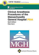 Clinical Anesthesia Procedures of the Massachusetts General Hospital for PDA by