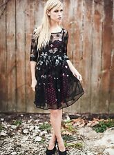 Anthropologie Plenty by Tracy Reese Sequin Dot Alemana Dress 2 XSmall NWT $188