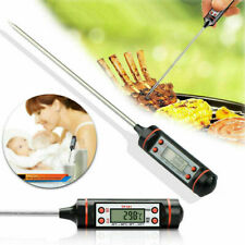 Digital Food Thermometer Meat Turkey BBQ Kitchen Catering Cooking Probe Sensor
