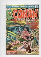 CONAN the BARBARIAN #35 VF/NM, Buscema, Ernie Chan, Howard, 1970 1974