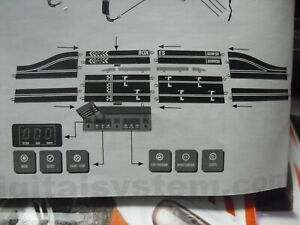 KIT COMPLETO  PARA DIGITAL SYSTEM SCALEXTRIC PIT BOX NUEVO