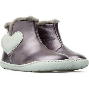 Camper Peu Cami Infant Girls Boots in Grey ( New Season)