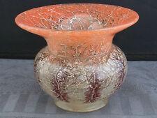 schöne kleine Glas-Vase ca.30er Jahre WMF Ikora