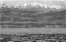 BG30186 le mont blanc et le leman vus st cergue   switzerland CPSM 14x9cm