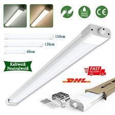 LED Wannenleuchte 60/120/150 Feuchtraumlampe Feuchtraumleuchte Keller Werkstatt