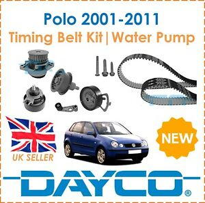 For VW Polo Hatch 1.4 16V Petrol  2001-2011 Dayco Timing Belt Kit & Water Pump