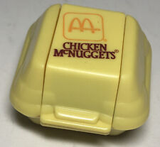 Vintage 80s Mcdonalds Happy Meal TOY Chicken McNuggets Changeable Transformer