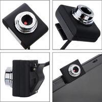 Mini USB 2.0 PC Camera HD Webcam Camera Web Cam For Laptop Desktop ATAUAJSH