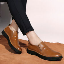 Men Pumps Loafers Shoes Slip on Flats Driving Moccasin Breathable Non-slip Party