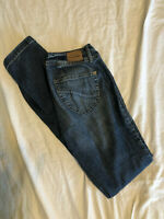 Paris Blues Womens Size 7 Denim Jeans RN# 69057 Great Used Condition!