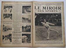 Le Miroir des Sports n°102- 1922 - Boxe Athlétisme Cycliste Tennis Motocycliste