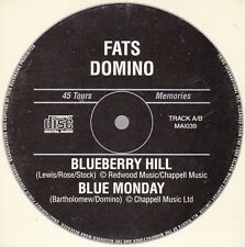 """CD SP 2 T FATS DOMINO  """"BLUEBERRY HILL"""""""