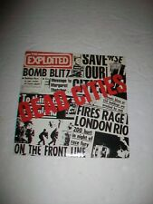 THE EXPLOITED  - 45 - PUNK Oi! KBD - DEAD CITIES - w/P/S