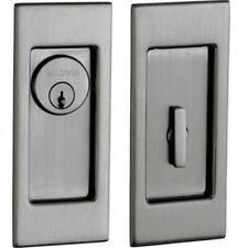 Baldwin Pd006003Kt Interior Privacy Trim Small Santa Monica Pocket Door - Lif.