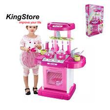 Pink Kitchen Safe Plastic Toys Children's Kids Own Play Set Space Boy Girl Gift