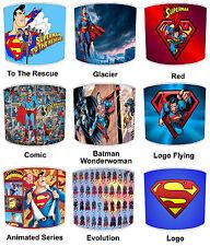 Superman Abat-Jour Idéal Correspond à Couettes Mural Autocollant