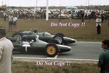 Jim Clark Lotus 25 South African Grand Prix 1962 Photograph