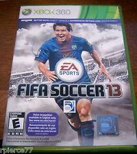 X-BOX 360 - FIFA SOCCER 13 - Rated E - EUC!