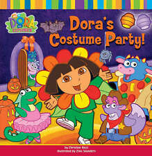 Dora's Costume Party (Dora the Explorer), Nickelodeon, Very Good Book