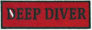 SCUBA DIVING - Deep Diver patch sc357