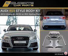 AUDI A3 RS3 S3 RS STYLE BODYKIT 8V Sportback & Saloon 2013 + RS3 BODY KIT  (UK)