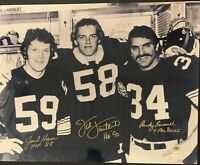 Jack Lambert Jack Ham Andy Russell Signed Steelers 16x20 Photo Autographed Holo