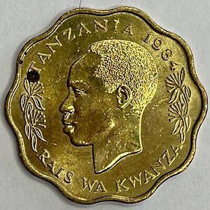 1984 Tanzania 10 Senti KM# 11