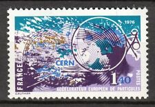 France - 1976 Nucleair research / CERN - Mi. 1997 MNH